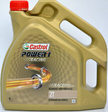 4 Liter Castrol Power 1 Racing 2T 2-Takt - Motoröl Zweitaktöl vollsynthetisch