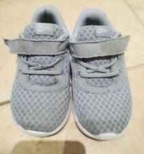 Zapatillas Nike Gris Niños Unisex Bebé Niño Chicos Chicas Tamaño 6.5