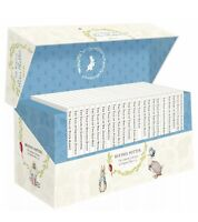 World of Peter Rabbit 23 Books Gift Collection Set Hardback - By Beatrix Potter