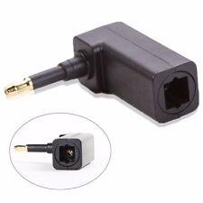 Toslink Digital Optical Female to 3.5mm Mini Plug Male Audio Adapter Right angle