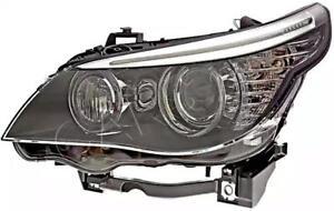 HELLA Bi-Xenon Headlight Left Fits BMW 5 E61 E60 Sedan Wagon 7044675