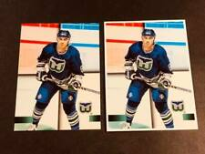 1995 TSC OVERSIZED and BLANK BACK PROOFS Geoff Sanderson Whalers