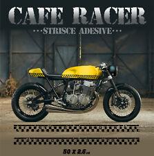 Cafe Racer Strisce adesive retrò moto custom pegatinas autocollants stickers