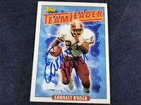 I4-12 FOOTBALL CARD - EARNEST BYNER REDSKINS - AUTOGRAPHED - 1993 TOPPS