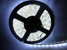 5 Meter 24V DC Kaltweiß LED Strip Streifen SMD 5050 IP65 Wasserdicht 300 LEDs