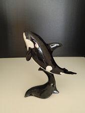 Orca Killer Whale Marine Mammal Sea Ocean Amy & Addy Nautical Figurine