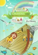 Romanian childrens book, People of the Old Testament, with coloring pictures
