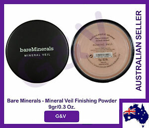 2 x id bare minerals escentuals  BareMinerals Mineral Veil 9g - FREE POSTAGE