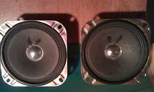Vintage 2 pieces  speakers 3.2 Ohm 3 W