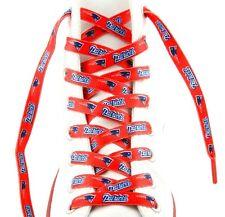 """NFL New England Patriots Logo Colors 54"""" Shoe Laces One Pair Lace Ups"""
