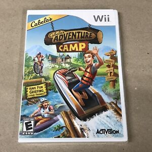 Cabela's Adventure Camp for Nintendo Wii BRAND NEW SEALED