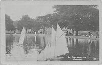 POSTCARD  SOUTHAMPTON - COMMON - BOATING LAKE - CIRCA 1915 -   RP