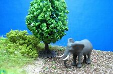 (te02) personaggio ELEFANTE traccia scale Gauge Z (1:220) Elephant