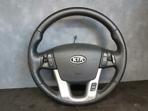 KIA SORENTO STEERING WHEEL LEATHER, XM, 10/09-09/12 09 10 11 12