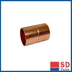 BRAND NEW - Copper Straight Coupler 3 Sizes Available Pack of 5