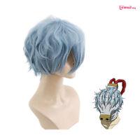 My Hero Academia Baku no Hero Academia Tomura Shigaraki Wave Blue Cosplay Wig