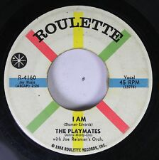 50'S & 60'S 45 The Players - I Am / What Is Love? On Roulette