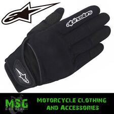 Gants noirs Alpinestars taille M pour motocyclette