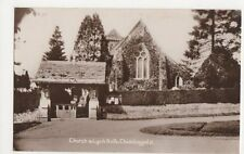 Church & Lych Gate Chiddinghfold RP Postcard, B355