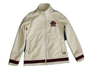 Hudson Bay Co. Canada Olympic Women's Medium Athletic Jacket Full Zipper