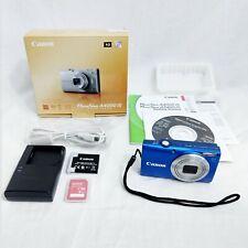 Canon PowerShot A4000 IS Digital Camera 16MP 8x Optical Zoom Blue