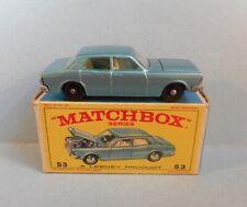 LESNEY MATCHBOX 53C Ford Zodiac Mk IV very near mint in original E4R box