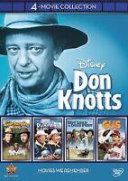 Disney 4-Movie Collection: Don Knotts (Apple Dumpling Gang 1 & 2, GUS NEW