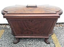 English Regency Mahogany Cellarette