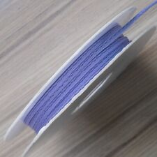 """BERISFORDS SATIN ROPE /RAT TAIL CORD 2MM (5/64"""") ORCHID (col 910) X 20 M ROLL"""