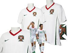 Nuevo Nike Portugal Camiseta de fútbol Away Blanco MEDIANA