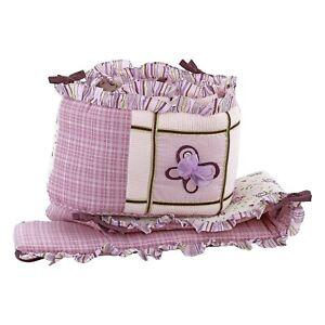 Cocalo SUGAR PLUM crib bumper girls new