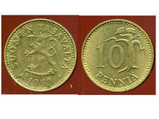 FINLANDE 10 pennia 1969