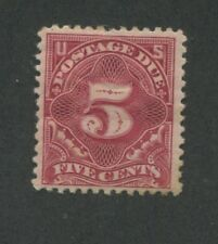 1895 Due Stamp #J41 Mint Hinged Very Fine Original Gum Certified
