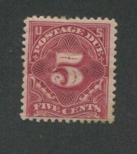1895 US Postage Due Stamp #J41 Mint Hinged Very Fine Original Gum Certified