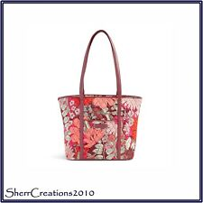 NWT Vera Bradley Small Trimmed Vera Tote Bag Shopper