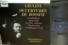 SAXF 1025*ROSSINI*overtures*CM.GUILINI*COLUMBIA ORG 1ST EDITION*DOWEL SPINE