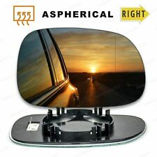 Right Driver side Wide Angle mirror glass for BMW Z3 convertible 1995-03 Heated