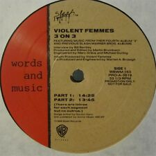 Violent Femmes 3 on 3 Interview & Music Lp