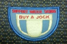 SUPPORT WATER SKIING BUY A JOCK PATCH
