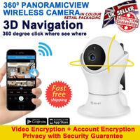 WorldCup 1080P HD Wireless IP Baby Home Security Smart WiFi AV CCTV Camera CAM