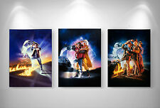 RETOUR VERS LE FUTUR BACK TO THE FUTURE 3 X Top Posters Format A3 297 x 420 mm