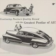 1942 Pontiac FL Torpedo Streamliner sale Brochure 42