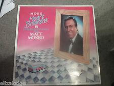 "MATT MONRO : More Heart Breakers 18 Golden Love Songs (12"" LP)"