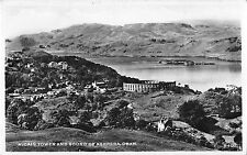 BR93983 mc caig tower and sound of kerrera oban scotland real photo