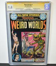 Weird Worlds #1 (1972) CGC Grade 9.4 Signature Series Marv Wolfman ~ DC Comics