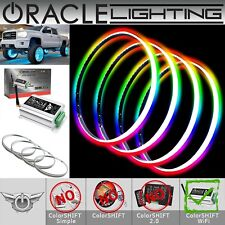 "ORACLE Lights Illuminated Rim 15.5"" LED RED Wheel Rings - Waterproof - Part 4215"
