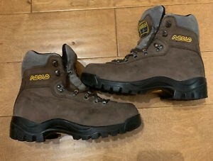 ASOLO AFX 535 LADIES HIKING BOOTS US 7.5 UK 6 EUR 39.5 MID SHOES LEATHER 7 40