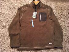 Bass Green Fleece, 1/4 Zip, Size M, NWT