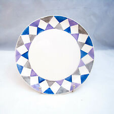 Villeroy & Boch Mettlach Saar Checkered/Diamond Salad Plate(s) VINTAGE, READ