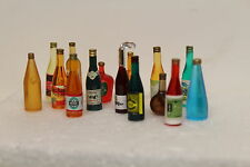 DOLLS HOUSE  15 Assorted Bar Bottles